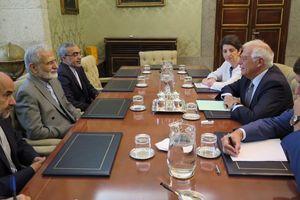 خرازی در دیدار با وزیر خارجه اسپانیا