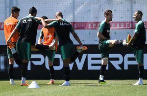 تمرین تیم ملی پرتغال در مسکو