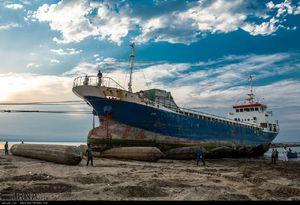 عکس/ کارخانه کشتیسازی در انزلی