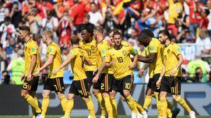 برد پرگل بلژیک برابر تونس/ صعود با گلهای لوکاکو +فیلم