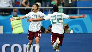 مکزیک صعودش را با برد کره قطعی کرد/ روز خوش یمن چیچاریتو +فیلم