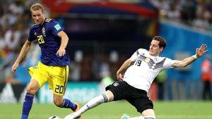 برخورد ناخواسته بینی رودی بازیکن آلمان را شکست