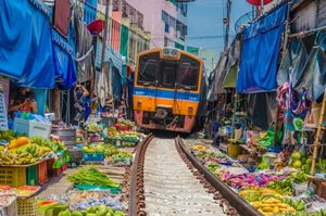 عجیبت ترین بازارچه محلی
