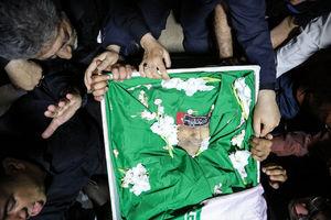 اولین تصویر از شهید مدافع حرم  شاهرخ دایی پور در  معراج شهدا
