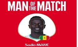 بازیکن برتر دیدار سنگال و ژاپن