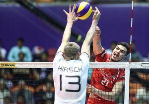والیبال ایران - آلمان