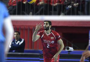 امتیازآورترین بازیکن والیبال ایران مقابل آلمان
