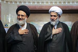 عکس/ حضور مسئولان در مراسم بزرگداشت مرحوم حجتالاسلام حسینی