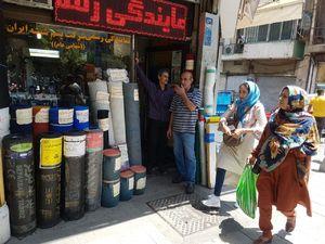 عکس/ فعالیت بازار تهران در عصر داغ تابستانی