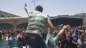 بازار تهران - اعتصاب - اغتشاش