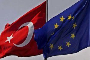 پرچم نمایه ترکیه و اتحادیه اروپا