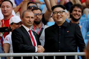 عکس/بدل رهبر کره شمالی و پوتین در روسیه