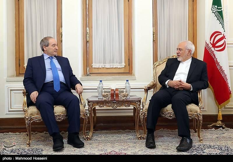 دیدار با قائم مقام وزیر امور خارجه سوریه