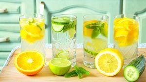 نوشیدنیهای مفید برای گرمازدگی