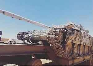 عکس/غنایمی که ارتش سوریه از تروریستها گرفت