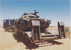 غنایمی که ارتش سوریه از تروریستها گرفت