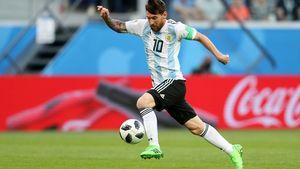 عکس/ برترین بازیکن دیدار آرژانتین - نیجریه