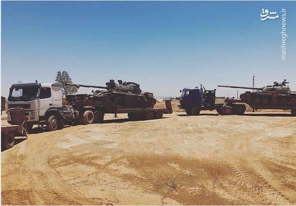 نیروهای ارتش سوریه در این عملیات بیش از ده خودرو زرهی و تانک را که متعلق به گروه «عامود حوران» بودند، از عناصر مسلح و تروریستی به غنیمت بگیرد.