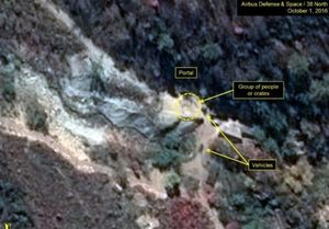 پیشرفت تاسیسات هستهای کره شمالی در تصاویر ماهوارهای