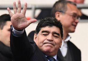مارادونا: قلب من فلسطینی است,