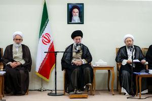 دیدار مسئولان قوه قضائیه با رهبرانقلاب