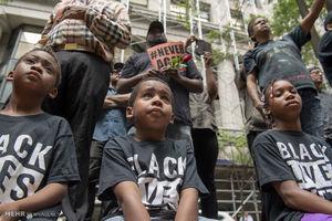 عکس/ تظاهرات علیه خشونت پلیس در آمریکا