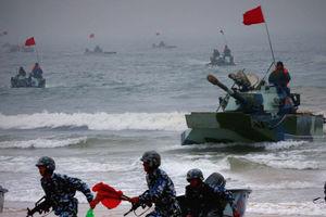 فیلم/ چین توان دریایی خود را به رخ آمریکا کشید!