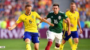 عکس/برتری ۳ گله سوئد مقابل مکزیک