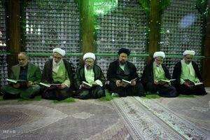 عکس/ تجدید میثاق مسئولان عالی قضایی با آرمانهای امام راحل
