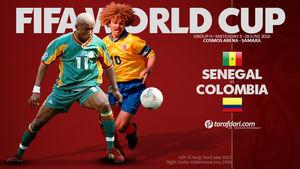 ترکیب تیمهای سنگال و کلمبیا اعلام شد +عکس