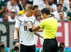 فغانی: به بازیکن آلمان مشت نزدم