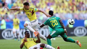 فیلم/ خلاصه دیدار کلمبیا ۱-۰ سنگال