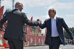 فیلم/ بازی پوتین با ستارگان فوتبال!