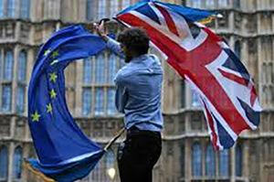 فیلم/ جنجال برسر خروج انگلیس از اتحادیه اروپا