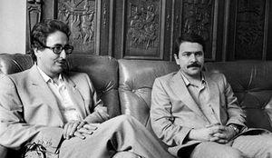 مسعود رجوی بنی صدر