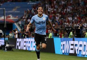 رکورد کاوانی در تیم ملی اروگوئه +عکس