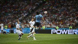 فیلم/ خلاصه دیدار اروگوئه ۲-۱ پرتغال