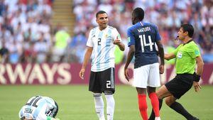 فیلم/ صحبتهای فغانی در مورد قضاوت بازی فرانسه-آرژانتین