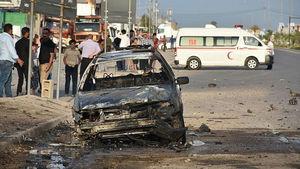 عکس/ انفجار در انبار نگهداری صندوقهای رای