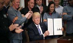 ترامپ شرکتهای اروپایی را به مجازات تهدید کرد
