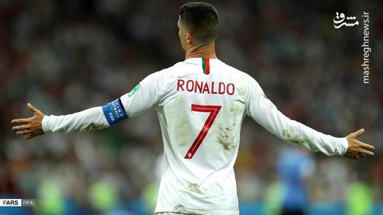 عکس/وداع رونالدو با جام