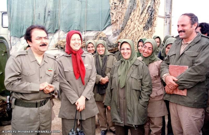 مریم رجوی مسعود رجوی