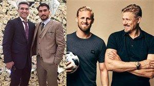 فیلم/ داستان پدر و پسرهای فوتبالی دنیا