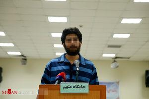 عکس/ دادگاه ضارب شهید حدادیان