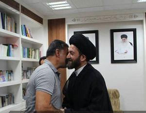 عکس/ دیدار علی دایی با امام جمعه اردبیل