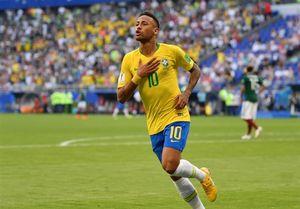 بهترین بازیکن دیدار برزیل و مکزیک  انتخاب شد