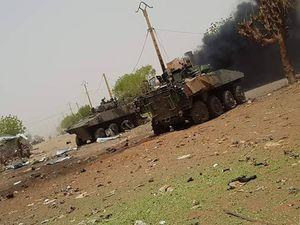 نابودی دو زره پوش فرانسوی در آفریقا