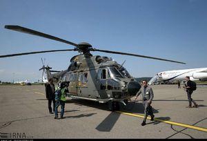 انتقال روحانی از فرودگاه زوریخ با بالگرد نظامی +عکس