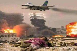نامردی ائتلاف سعودی علیه یمن