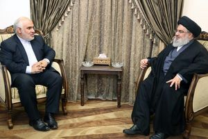دیدار سفیر ایران در لبنان با سید حسن نصرالله +عکس